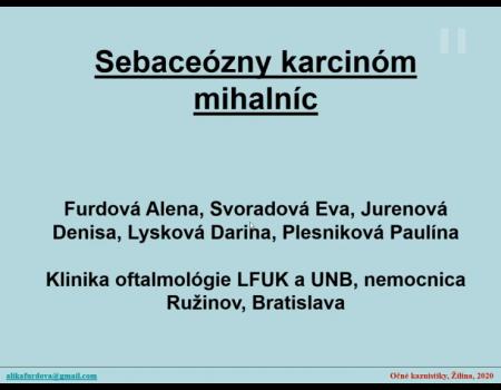4. Sebaceózny karcinóm mihalníc