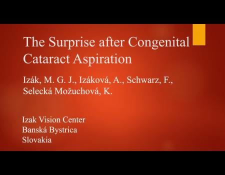 39. Prekvapenie po aspirácii kongenitálnej katarakty